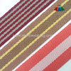 Alta qualità Cotton e Polyester Striped Webbing