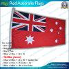 Bandera nacional australiana roja 100% del poliester de la alta calidad 160GSM (J-NF05F09012)