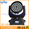 36*10W RGBW Zoom Wash 4in1 LED Moving Head Light