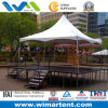 PVC Spring Top Tent 6mx6m White для Stage