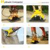 Vibrating hidráulico Compactor Plate para Excavator em 11-16 Tons