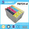 Patroon van de Inkt van de Kleur van de top de Compatibele voor Epson t0731-4