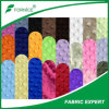 Polyester 100% Colorful Minky Fabrics Hot Sale in Indonesien