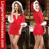 De verrukkende Lingerie van de Robes van de Kerstman van Hottie van de Vakantie van Kerstmis van Vrouwen Sexy