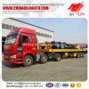 20FT 40FT Behälter-Flachbett-halb Schlussteil-Export nach Brunei
