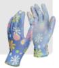 Покрашенные перчатки PU