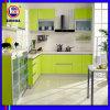 緑色の高い光沢のある食器棚(FY069)