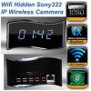 Miniversteckte Sony322 Len volle Nachtsicht 1080P WiFi Taktgeber IP-Überwachungskamera