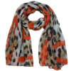 Mulheres Moda Polyester Voile Scarf