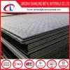 Placa de aço Chequered laminada a alta temperatura do carbono Q235B/Ss400/A36 suave