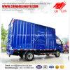 4X2 Van Dimension 4000mm de Vrachtwagen van de Lading van de Doos van de Lengte