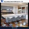 Contador de cocina de piedra artificial del nuevo lustre del diseño alto, vector de cocina, diseño de los muebles de la cocina
