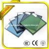 Énergie d'économie colorée isolation Basse-e/bas d'E en verre avec CE/ISO9001/CCC