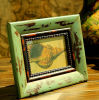 Wooden de aspecto lastimoso Photo Frame para Decoration