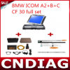 Icom A2+B+C für BMW mit Panasonic-CF 30 Full Set mit 2016.05 Software