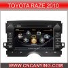 GPS를 가진 Toyota Raze 2010년, Bluetooth를 위한 특별한 Car DVD Player. A8 Chipset Dual Core 1080P V-20 Disc WiFi 3G 인터넷 (CY-C084로)