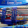 16m Three-Axleの重義務Lowbed Flat Panel Semi Trailer (LAT9406TDP)