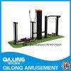 Equipo al aire libre de la aptitud del cuerpo de la alta calidad (QL14-239H)