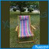 줄무늬로 하는 의자 일요일 나무로 되는 Foldable 침대