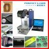 Machine portative d'inscription de laser de fibre de haute précision de Pedb-400A