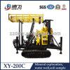 Perforadora Xy-200c del agujero de la superficie de la profundidad de la eficacia alta los 200m