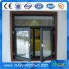 Dubbele Ruit buiten het Openen van het Openslaand raam van het Aluminium met Dubbel Verglaasd Glas