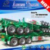 세 배 Axis Hydraulic 40ft Container Frame Trailer Chassis Truck