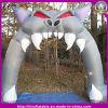 Arco inflável da decoração cinzenta ao ar livre de Halloween do gato para o partido de feriado