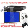 сальто автомобиля 16.4-Inch вниз контролирует с MP5 для Benz Bwm