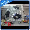 Bille de Zorb de forme du football de pente commerciale pour la vente en gros, bille gonflable commerciale de Zorb d'herbe