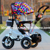 Baby colorido Stroller Baby Tricycle com Sunshade Umbrella