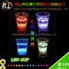 Taza del partido LED del LED que destella de la taza plástica del vino