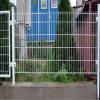 PVC beschichteter geschweißter Draht-Zaun/Puder beschichteter geschweißtes Ineinander greifen-Draht