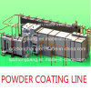 Electrostatic Powder Coating를 위한 주문을 받아서 만들어진 Solution Powder Coating Line