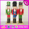 2015 nouveau Style Wooden Baby Nutcracker Doll, Mini Cheap Chritmas Baby - poupée Toy, Promotional Colorful Wooden Baby - poupée Toy W02A060