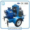 Individu de prix de gros amorçant la pompe à eau d'égout centrifuge de moteur diesel
