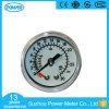 manomètre médical de caisse en acier blanche de qualité de 40mm
