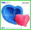 Coeur Pattern Silicone Fondant Mold avec Highquality