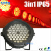 LED Waterproof PAR64 54PCS 3W RGB PAR DJ/Disco Light