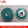 Diamante Turbo Cutting Blade con Flange M14