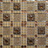 300X300mm Gold Foil Glass Mosaic (VMW3602)
