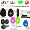 3G個人的なポータブルGPSの追跡者サポート3G/2gネットワーク(EV-07W)