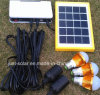 Solar Energy Power Supply LED Lighting Kits with 3PCS Lamp