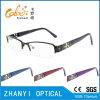 Telaio dell'ottica di Eyewear di modo di vetro di titanio Semi-Senza orlo del monocolo per la donna (8215)