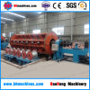 Madeinchina heiße Platten-voll automatische steife Aluminiumdraht-Schiffbruch-Maschine des Verkaufs-64