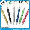 Girare la penna a doppio scopo di plastica dello stilo della penna dello stilo per lo schermo di tocco