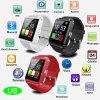 Los más vendidos del reloj de Bluetooth inteligente con Android y el IOS (U8)
