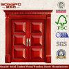 パネルの二重入口の純木のドア(XS1-024)