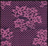 花Pattern Lace Fabric (oeko-texの標準100の証明YC7379と)