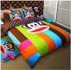 置かれる100%年の綿の子供の寝具(ZY)